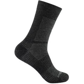 Wrightsock Coolmesh II Merino Crew Socks Grey/Black